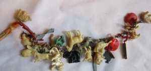 Someone's treasured charm bracelet, found on ebay long ago
