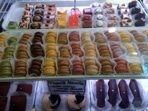 Parisian macarons at Patisserie