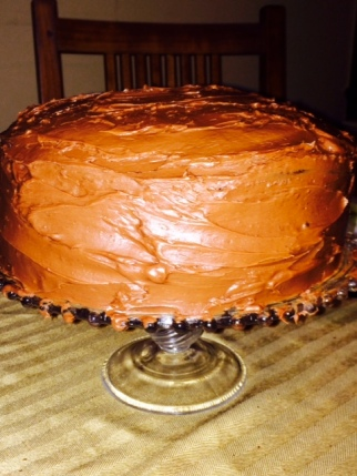 Rebecca's amazing chocolate cake